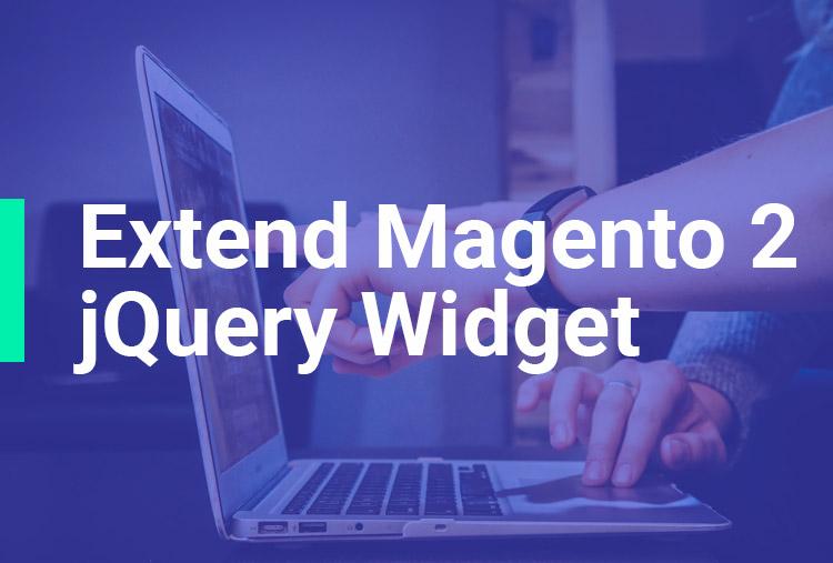 Extend Magento 2 jQuery Widget